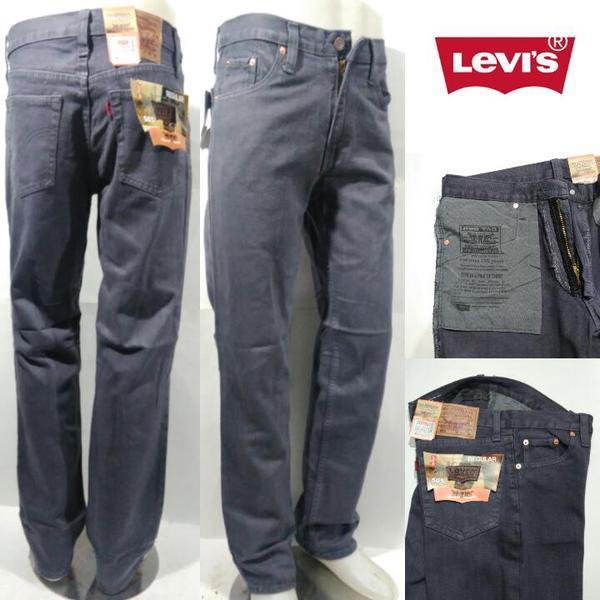 Fitur Celana Jeans Pria Jeans Hitam Abu Abu Dan Harga Terbaru
