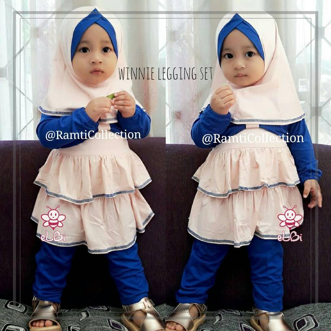 baju muslim anak l baju keren balita l winnie