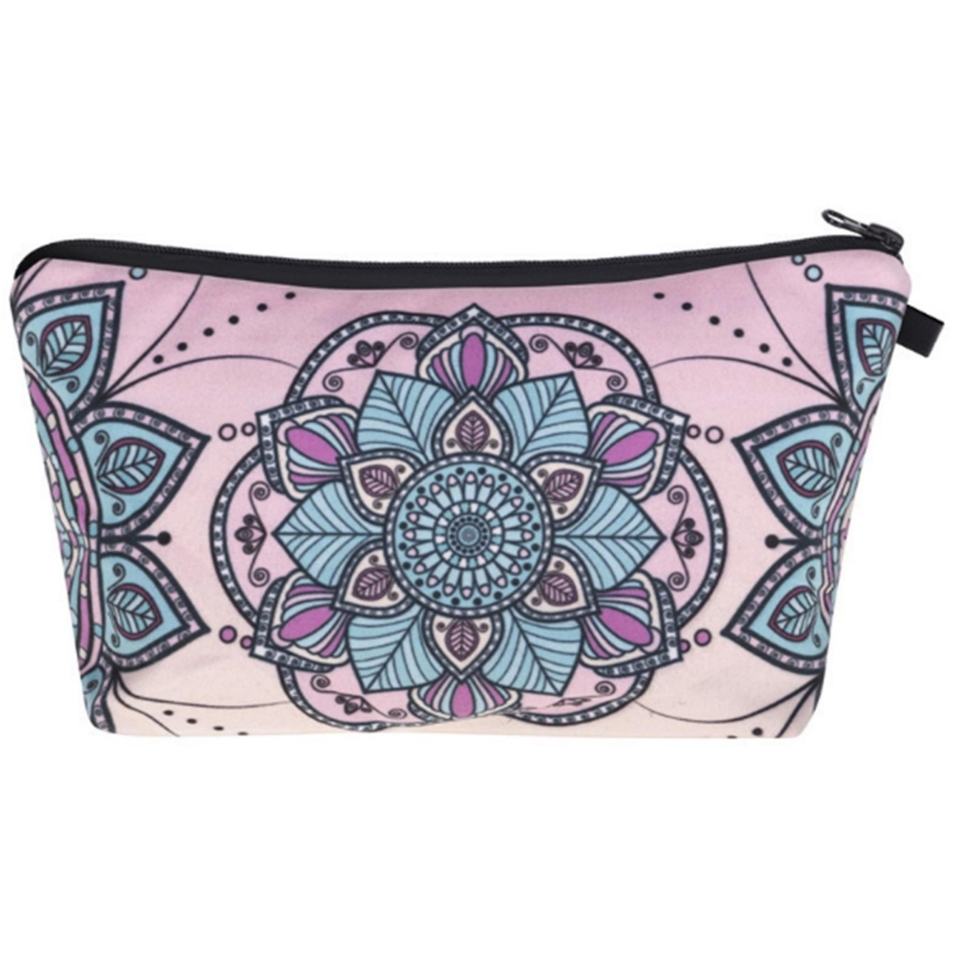 JOM TOKOY Travel Makeup Case Cosmetic Bags Tas Make Up Pouch
