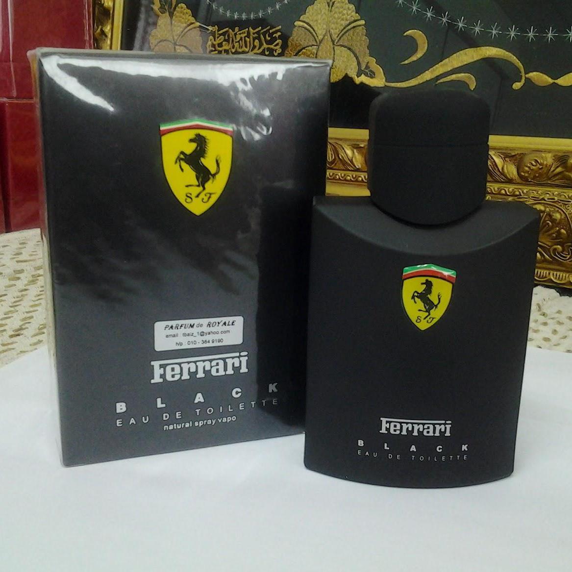 Ferrari Scuderia Black Men EDT Parfum Pria [125 mL] (Original singapore)