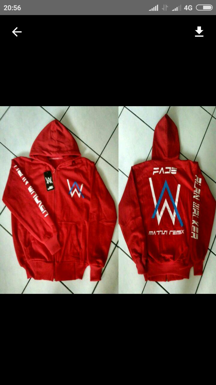 Jaket Alan Walker anak