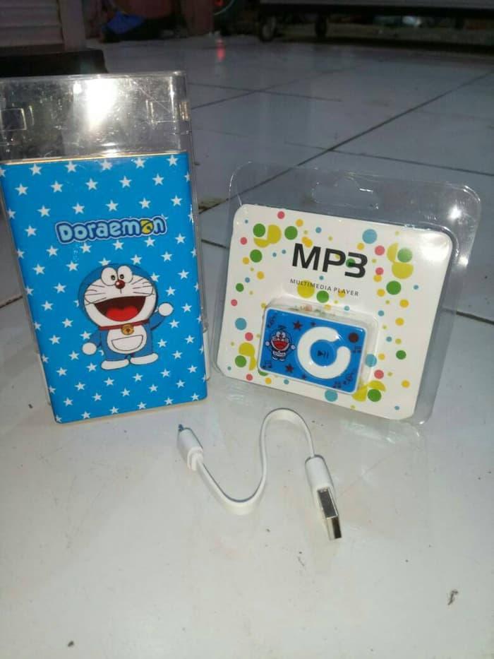 Detail Gambar Paket Powerbank Slim 88000mah Dan MP3 Player Doraemon Terbaru