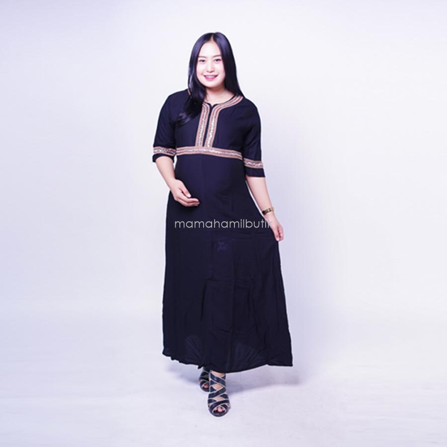 Fitur Ning Ayu Gamis Hamil Cantik Modis Best Seller Model Arab