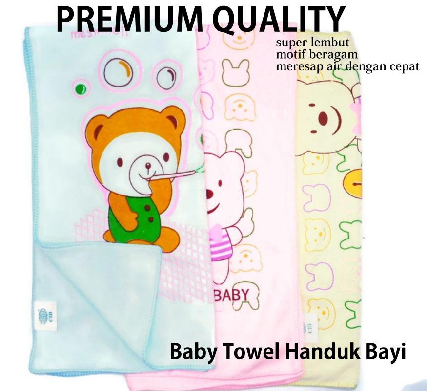 Mesh Handuk Bayi Premium Quality - Best Quality Baby Towel Soft Super Lembut Extra Dry -