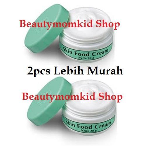 2pcs Night Cream Viva Skin Food Krim Pencerah Whitening