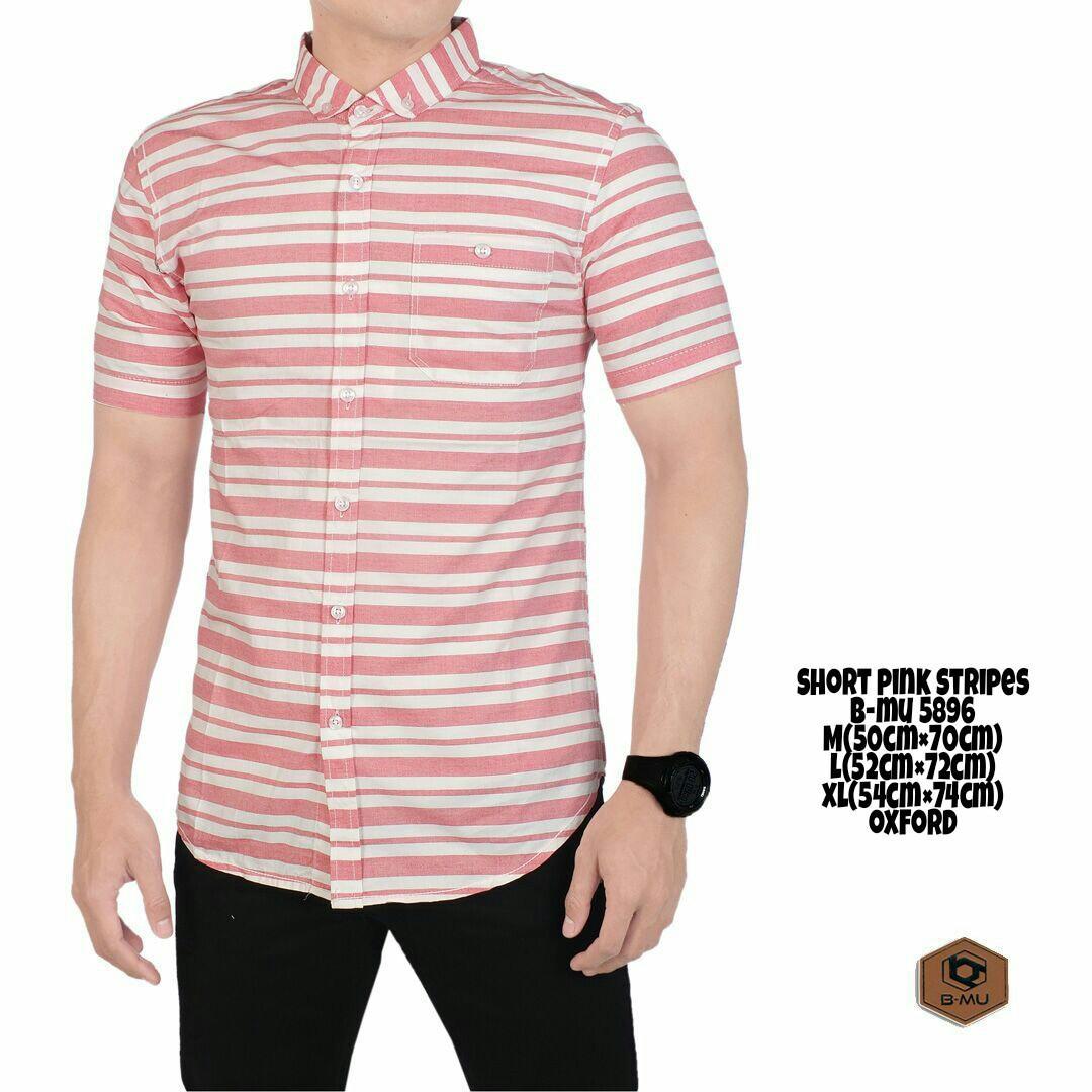 Spesifikasi The Most Kemeja Pendek Putih Lines Pink White Kemeja Jeans Cowok Kemeja Jeasn Pria Nyaman Adem Kemeja Warna Biru Hitam Kemeja Termurah Terlaris Kemeja Santai Kemeja Kerja Distro Bandung Jeans Pria Merk The Most