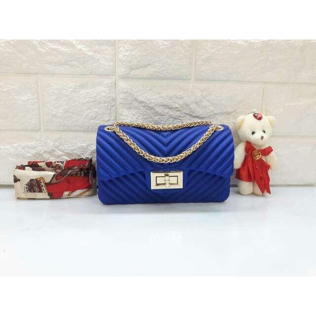 Beli Urbantrendy Korean Style Fashion Bag Import Tas Selempang Wanita C09077 Jelly Terbaru