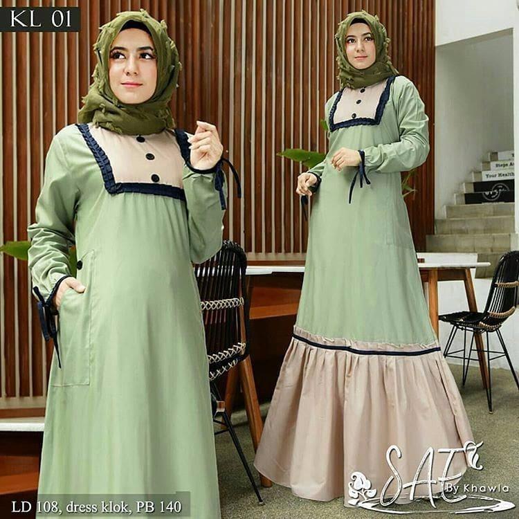 Gamis Safea Dress Balotelly Baju Wanita Panjang Muslim Casual Wanita Pakaian Hijab Modern Baju Gaun Pesta Modis Trendy Terbaru 2018