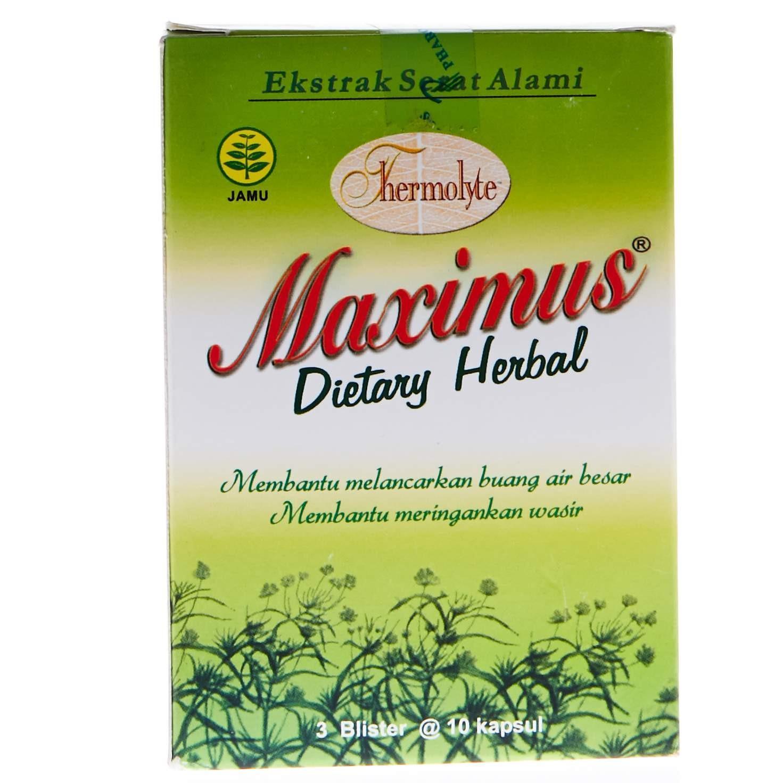 Acai Berry Slimming Herbal Adonai New Pack 30 Kapsul Pelamgsing Acaiberry Thermolyte Maximus Dietary