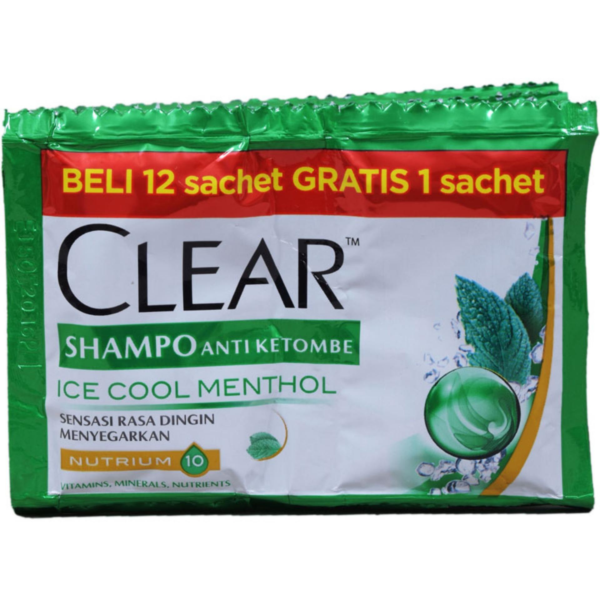 Fitur Clear Men Shampoo Anti Ketombe Ice Cool Menthol 170ml Dan Complete Soft Care 340 Ml 6x10