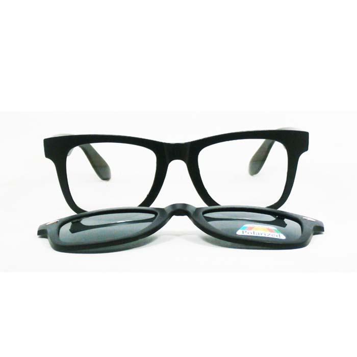 Fitur Terbaru Anti Uv Clip On Glass Lens Black Clip Kacamata Warna ... c0009b6b8c