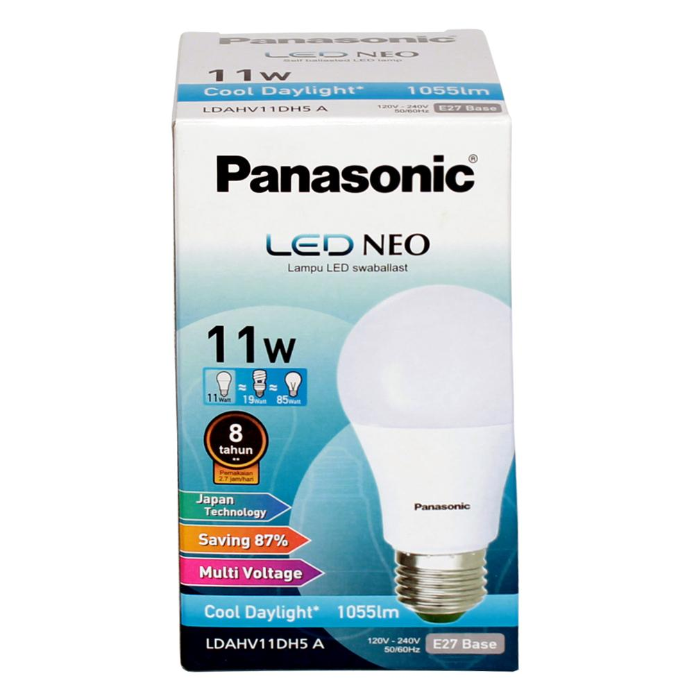 Panasonic Lampu Led Neo Cool Daylight 11 Watt - LDAHV11DH7A