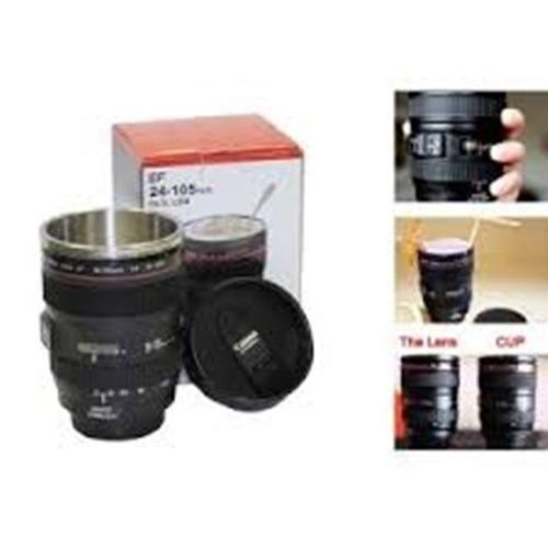 Gelas Mug Replika Lensa Kamera Ef 24-105Mm Tutup Fish Eye - hitam / mug kopi / mug unik
