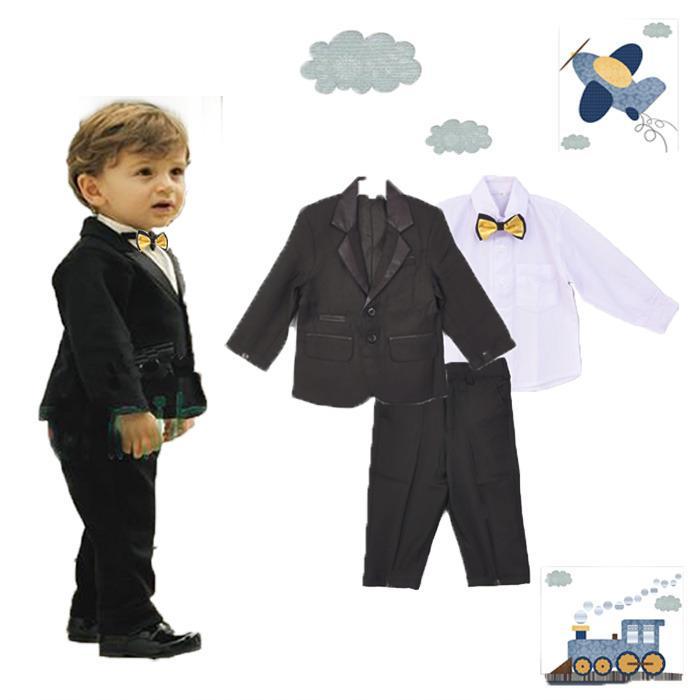 Jas Anak Setelan Jas Anak Setelan Baju Jas Black Gold Tie Multi Diskon 30