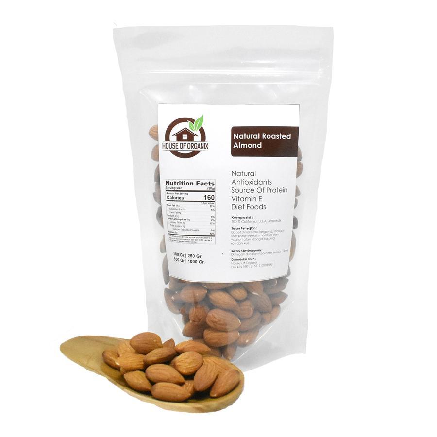 Kelebihan Kuartet Nabati Almond Irisan Sliced 250 Gr Terkini Natural Meal Flour Tepung Kacang 500 Roasted