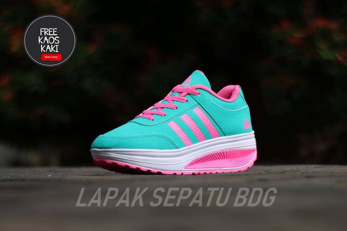 sepatu sneakers SEPATU WEDGES WANITA Fashion Sneakers impor ZX900 READY STOCK sepatu olahraga - 2