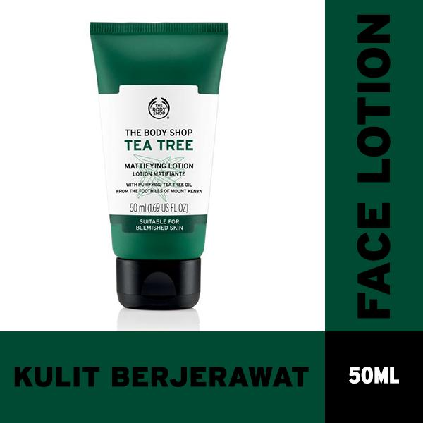Toko The Body Shop Tea Tree Face Lotion 50Ml Terlengkap Di Banten