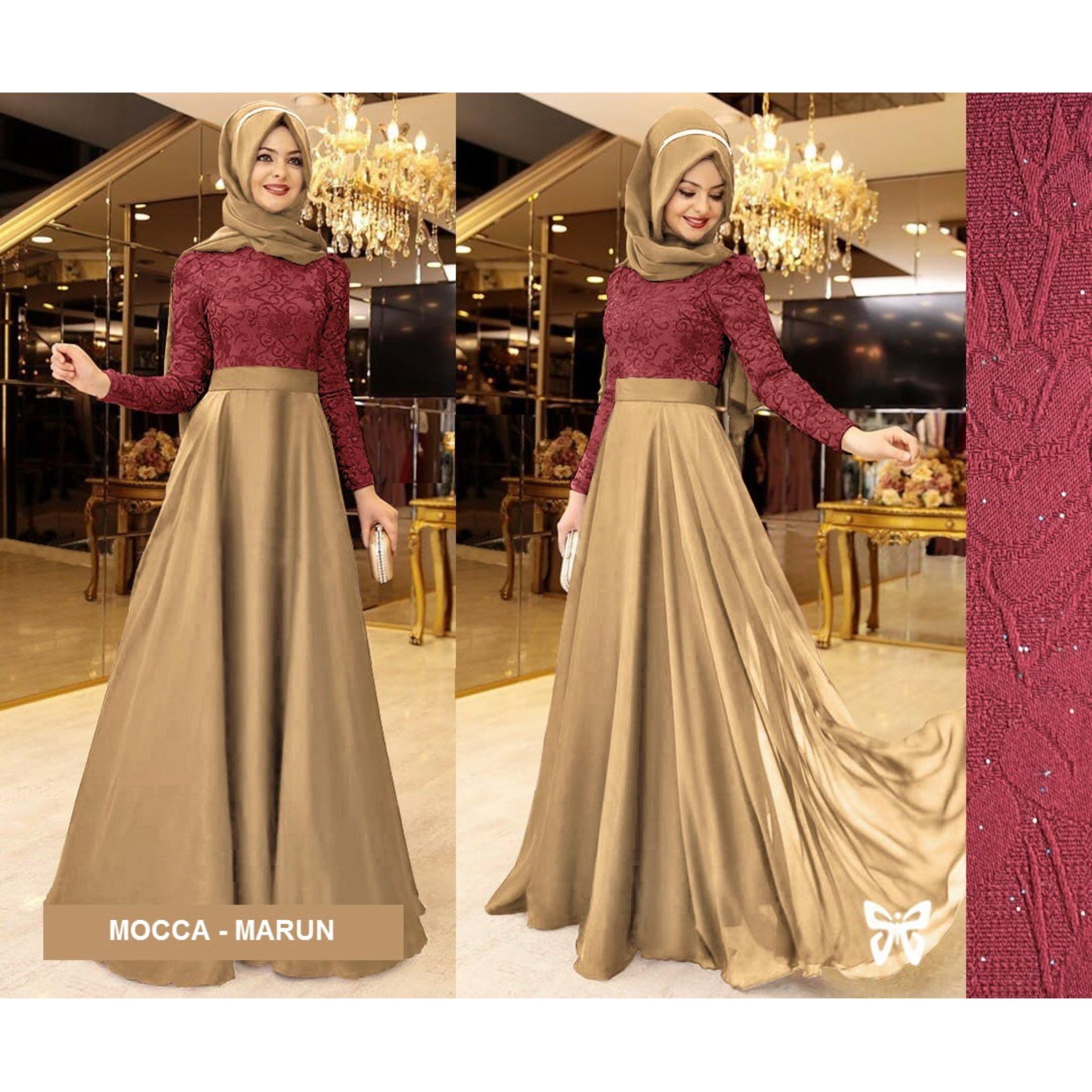 Baju Dress Kaos Wanita 610K102343 Lemone Tshirt. Source · Sera Outfit Maxi Dress Lengan Panjang