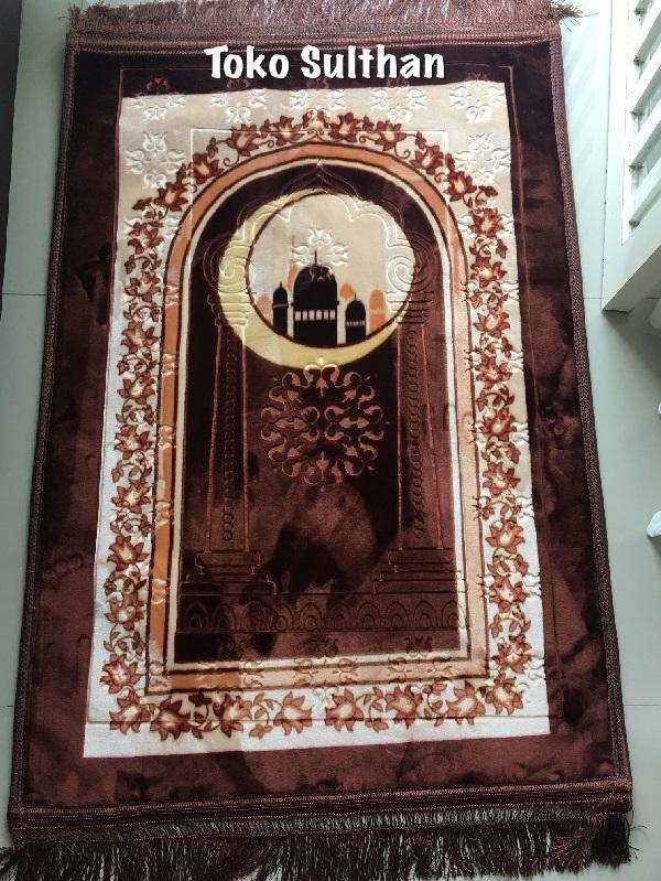 Sajadah Lebar Al Aqsa Anti Slip Halus dan Lembut 80x120