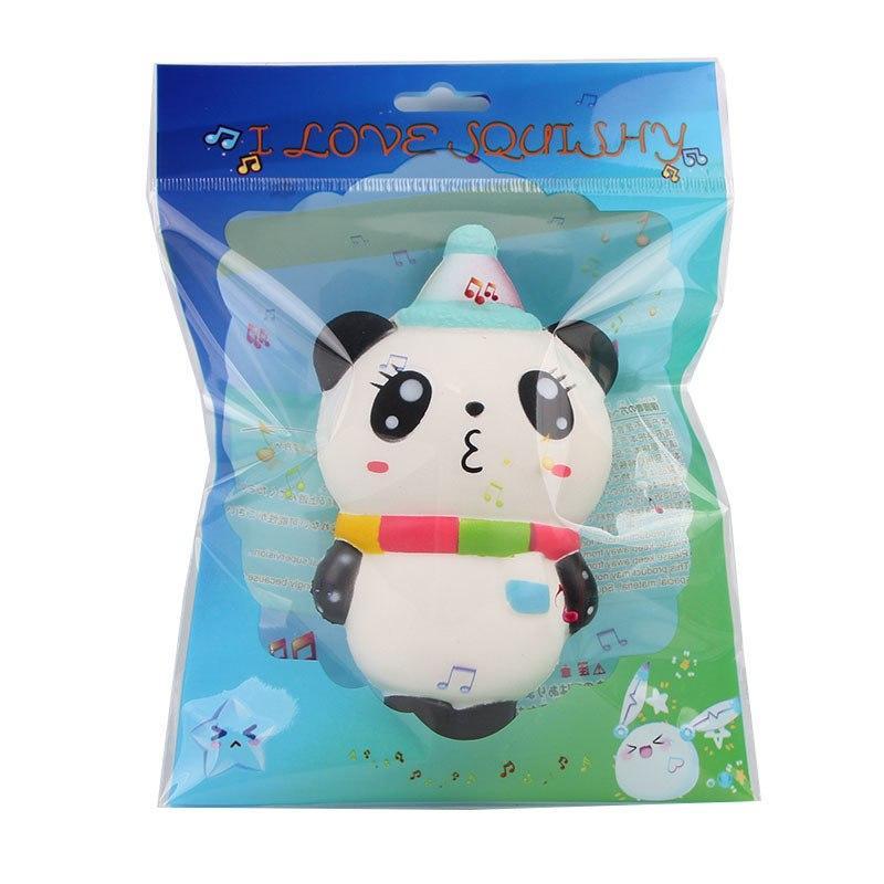 Squishy Licensed Christmas Ice Cream Bear 14cm SE108 Sanqi Elan