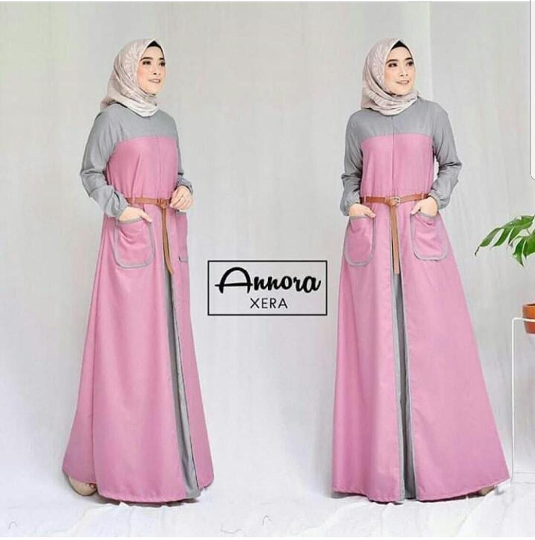 Baju Muslim Original Gamis Annora Dress Balotelly Baju Panjang Muslim Dress Casual Wanita Pakaian Muslim Wanita Pakaian Hijab Modern Baju Gaun Pesta Modis Trendy Terbaru 2018
