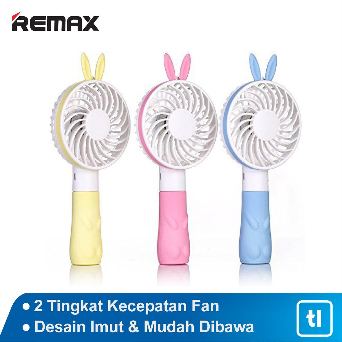 Remax Bunny Mini Fan F7 / Kipas Angin Mini / Kipas Angin Portable /  Kipas Angin Portable Murah / Kipas Angin Portable USB Fan