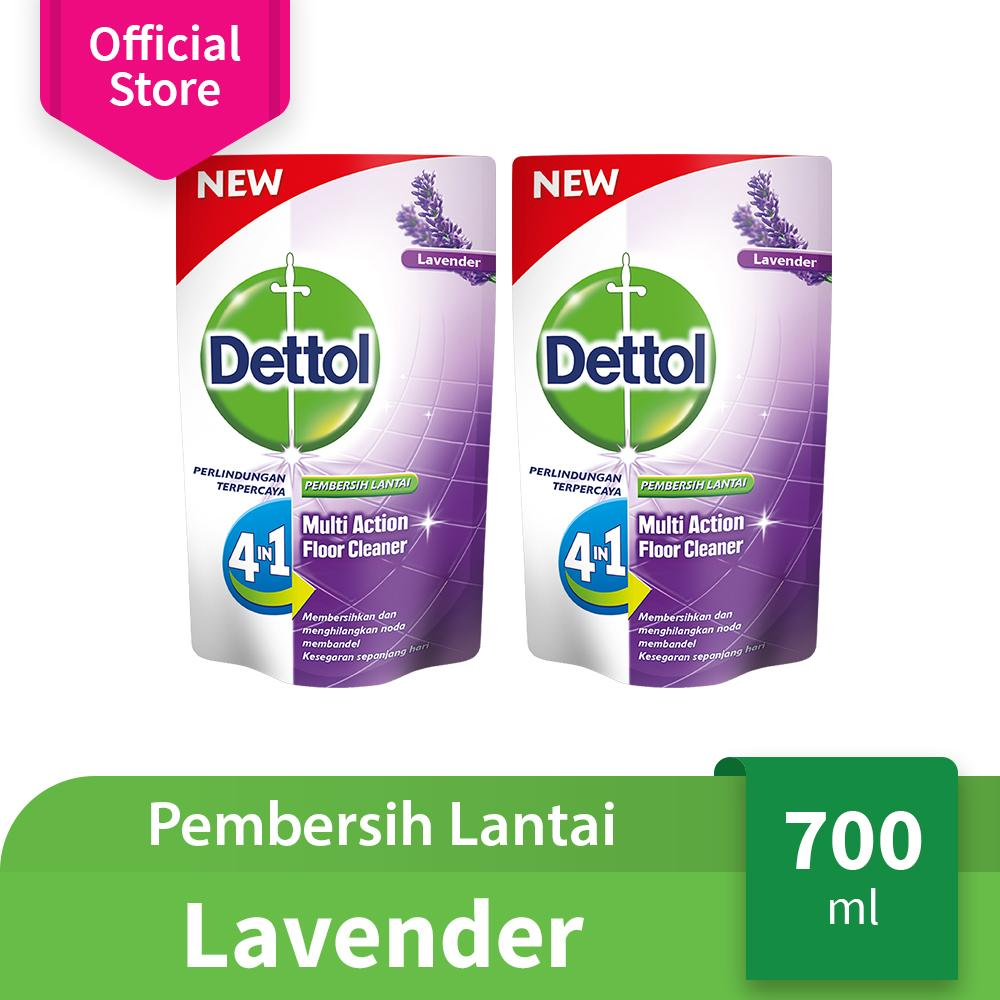 Dettol Floor Cleaner Lavender 700ml x 2
