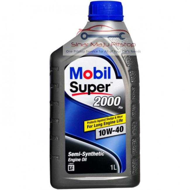 Mobil Super 2000 X2 10W 40 Synthetic API SN