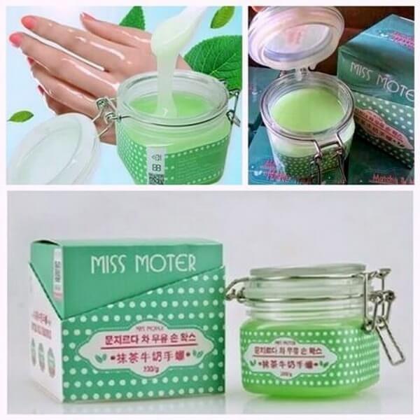Miss Original Masker Tangan Hand Wax Film Matcha Hijau Moter - 200gr