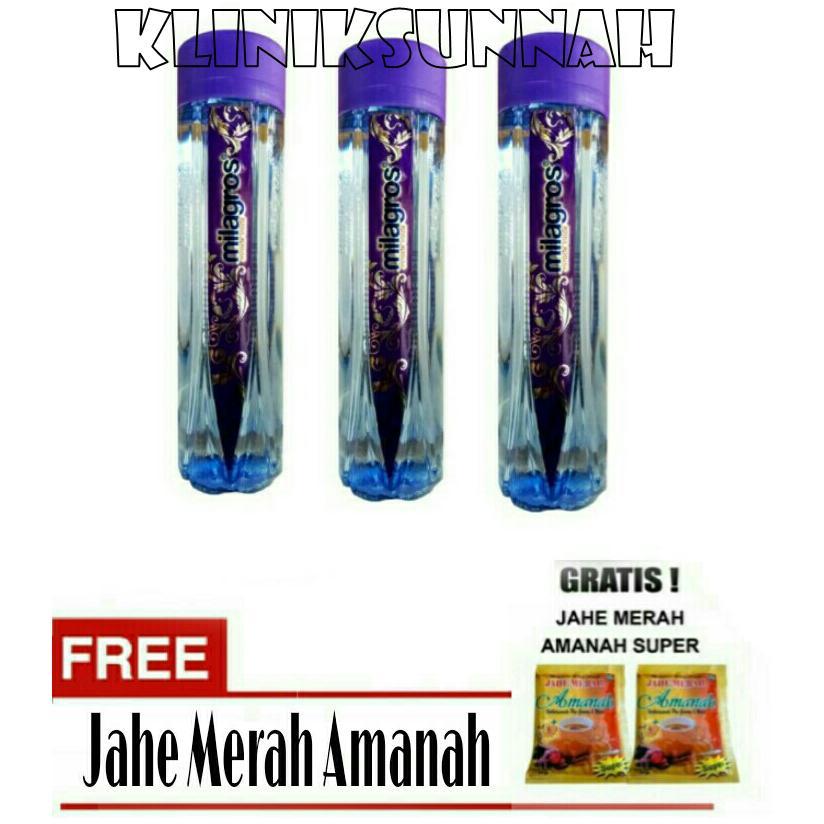 Jual Kliniksunnah Paket 3 Milagros Miracle Inside Air Ajaib Jahe Amanah Milagros Branded