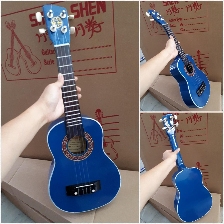 Fitur Fox Gitar Akustik Ukulele Import Gratis Pick Packing Dus Mini