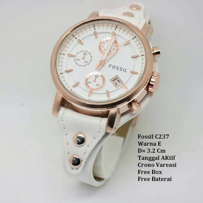 Detail Gambar jam tangan wanita kulit fosil. Terbaru