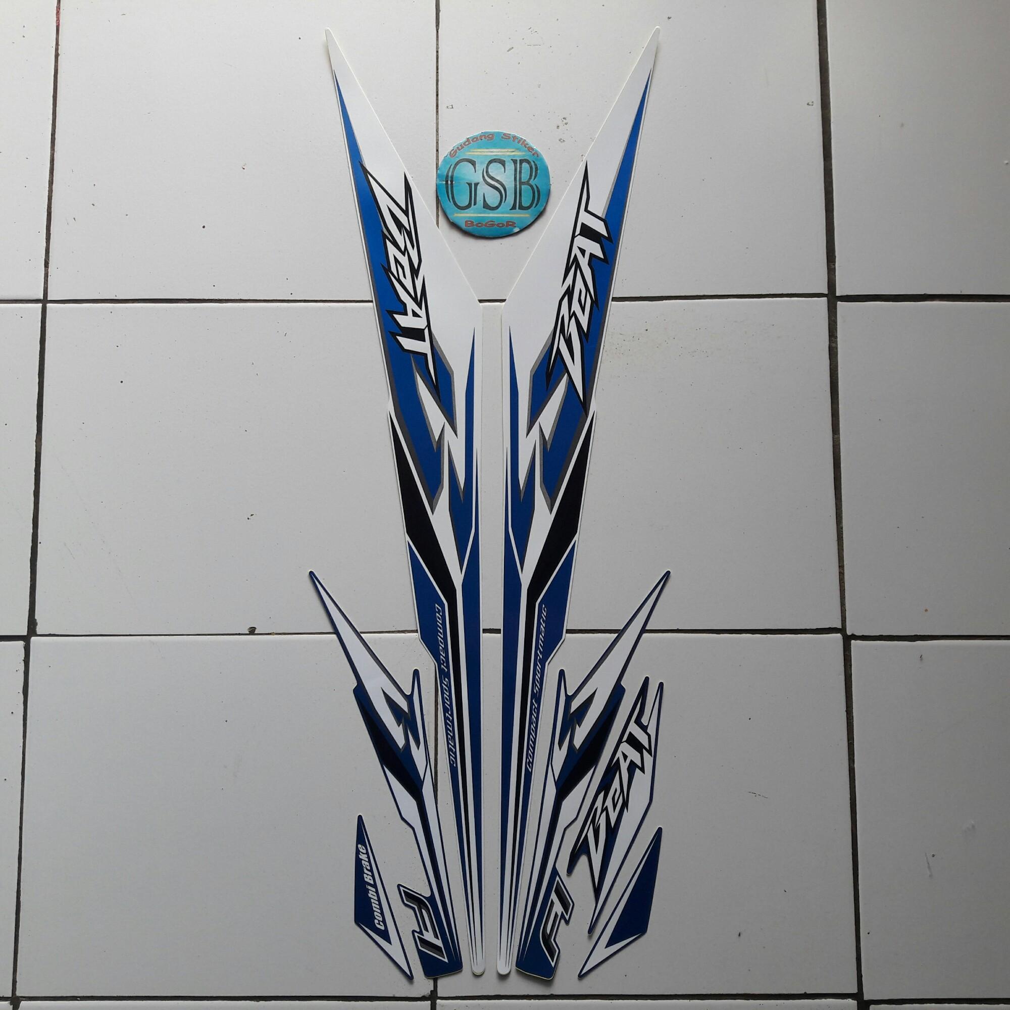 Kelebihan Cover Motor Honda Beat Sporty Cbs Iss Biru Terkini New Vario 110 Esp Grande White Jakarta Stiker Striping Fi Thailand 2018 Putih