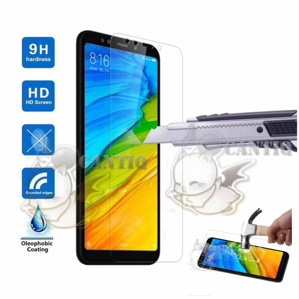 QCF Tempered Glass Xiaomi Redmi Note 5 Ukuran 5.99 inch/ Anti Gores Kaca Xiaomi Redmi