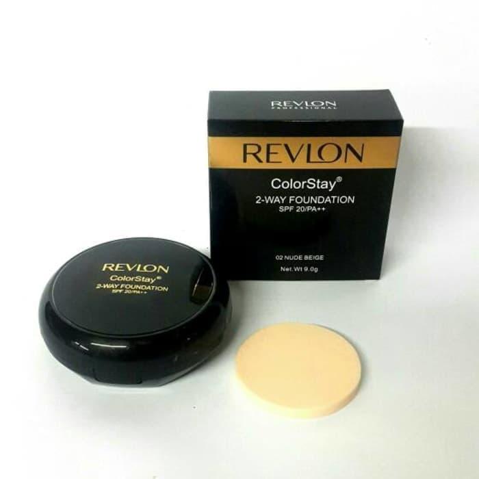 BEDAK PADAT REVLON COLORSTAY 2IN1 SPF 20/PA ++/ Compac Powder/ Bedak