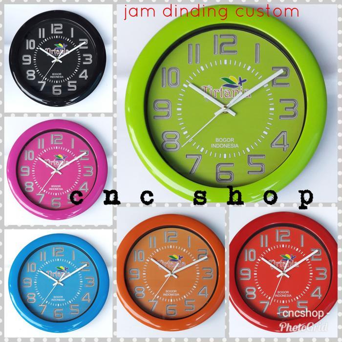 PROMO - Jam Dinding Promosi  Custom for Tirtania Waterpark Bogor    Jam  Dinding Unik 9fadbda3c9