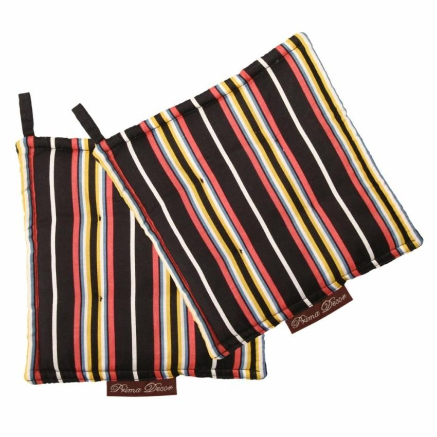 ... Gambar Produk Rinci Prima Decor Set of 2 Pot Holder Cempal Stripes Terkini