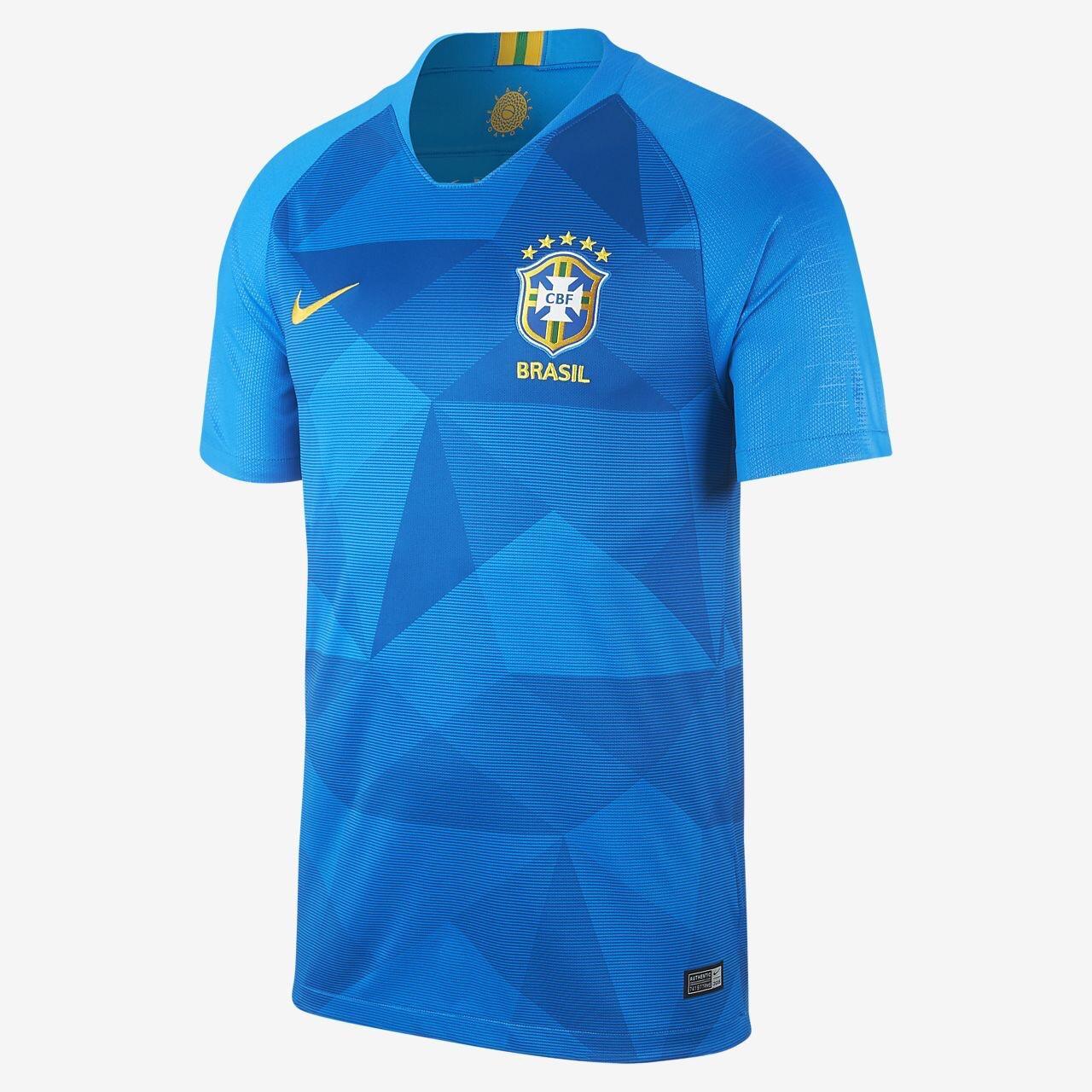 JERSEY BRAZIL AWAY WORLD CUP 2018 - JERSEY BOLA TIMNAS BRAZIL PIALA DUNIA 2018