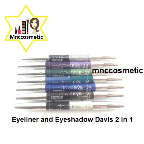 Eyeliner and Eyeshadow Davis 2 in 1