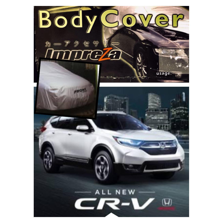 PADIE - Impreza Body Cover Mobil Honda All New CRV - Grey/selimut mobil/