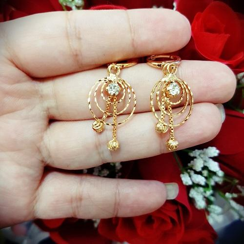 anting spiral cantik xuping