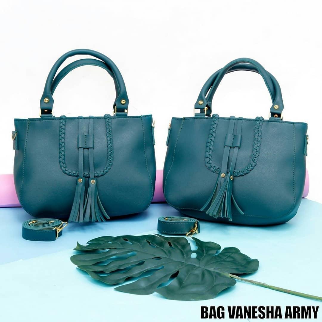 Ubay Shop Tas Selempang Wanita / Tote VaneshaSolid Shoulder Bag