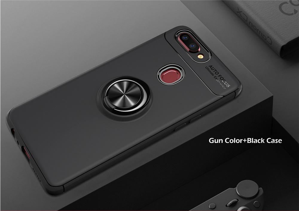 Features Oppo F9 Case Socket Crome Autofocus With Holder Iring 360