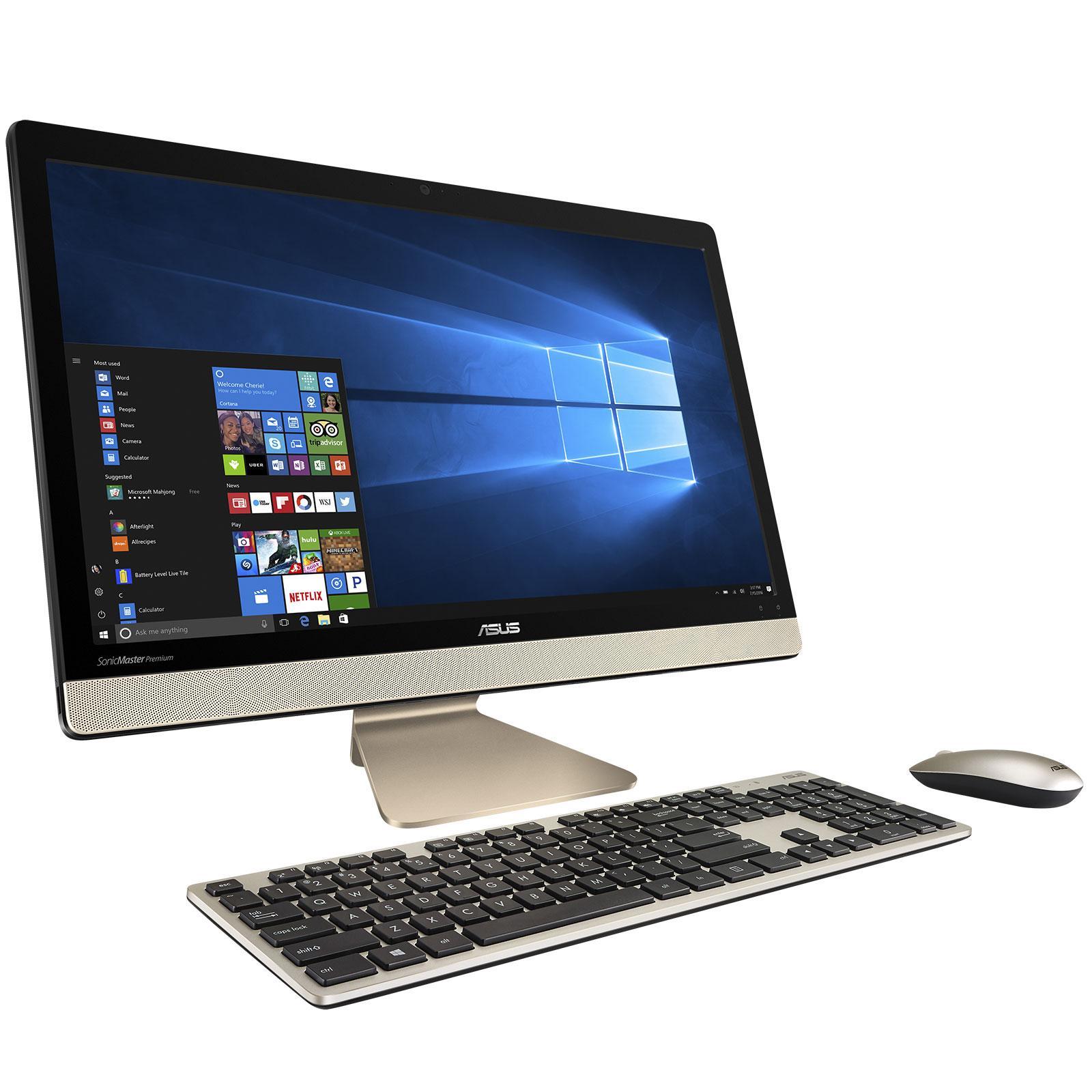Asus Pro P2430ua Wo0815d 4gb Ram Intel Core I3 Hdd 500gb Fingerprint Wo0822d Black Pc All In One Vivo Aio V221 Ba031d