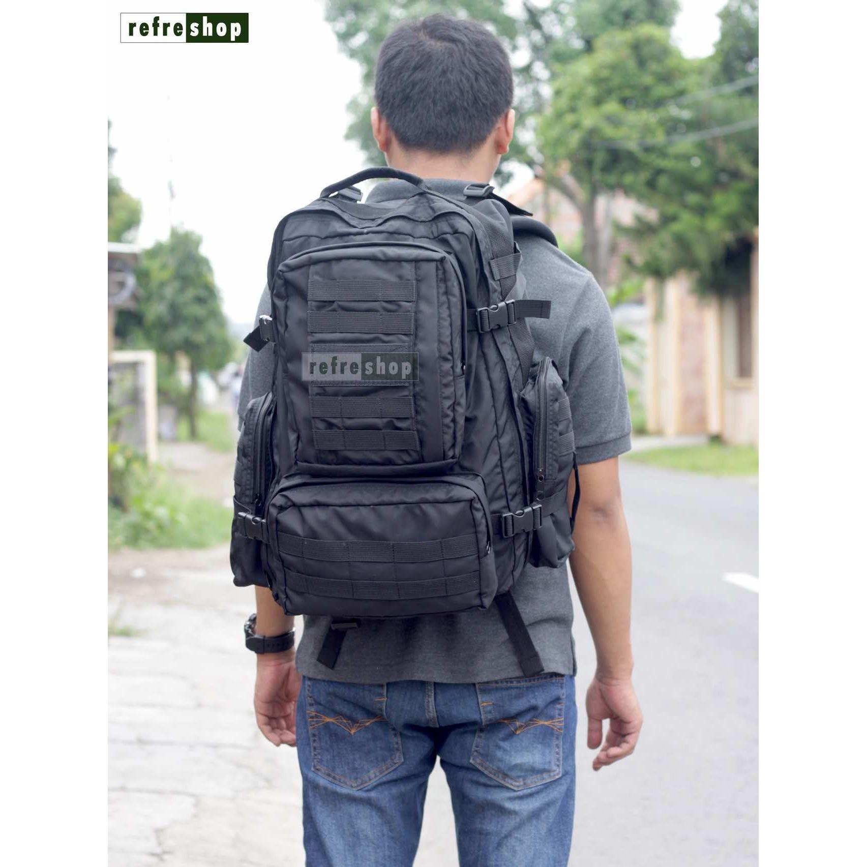 Fitur Tas Punggung Kuat Army Tactical Ransel Militer Px431 Awet Backpack 3p Berkualitas Refreshop 5