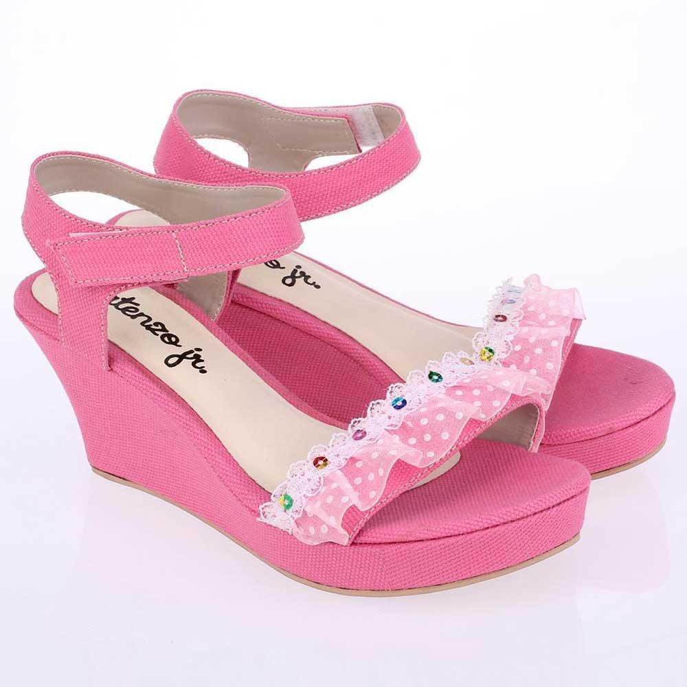 Cek Harga Baru Ukuran 31 36 Sepatu Sekolah Anak Perempuan Cewek Warna Hitam 35 Sandal Sendal Wedges Pink Cnr 006 Cr
