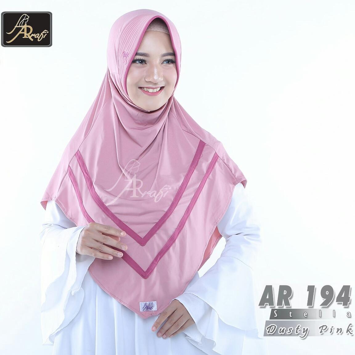 Hijab Instan Arrafi Veena Warna Med Pink Ar71n Kerudung Jilbab Bergo Talita Kombinasi Violet Ar45a Best Seller From Brand Detail Gambar Veera Ori By Ar 194 Dusty