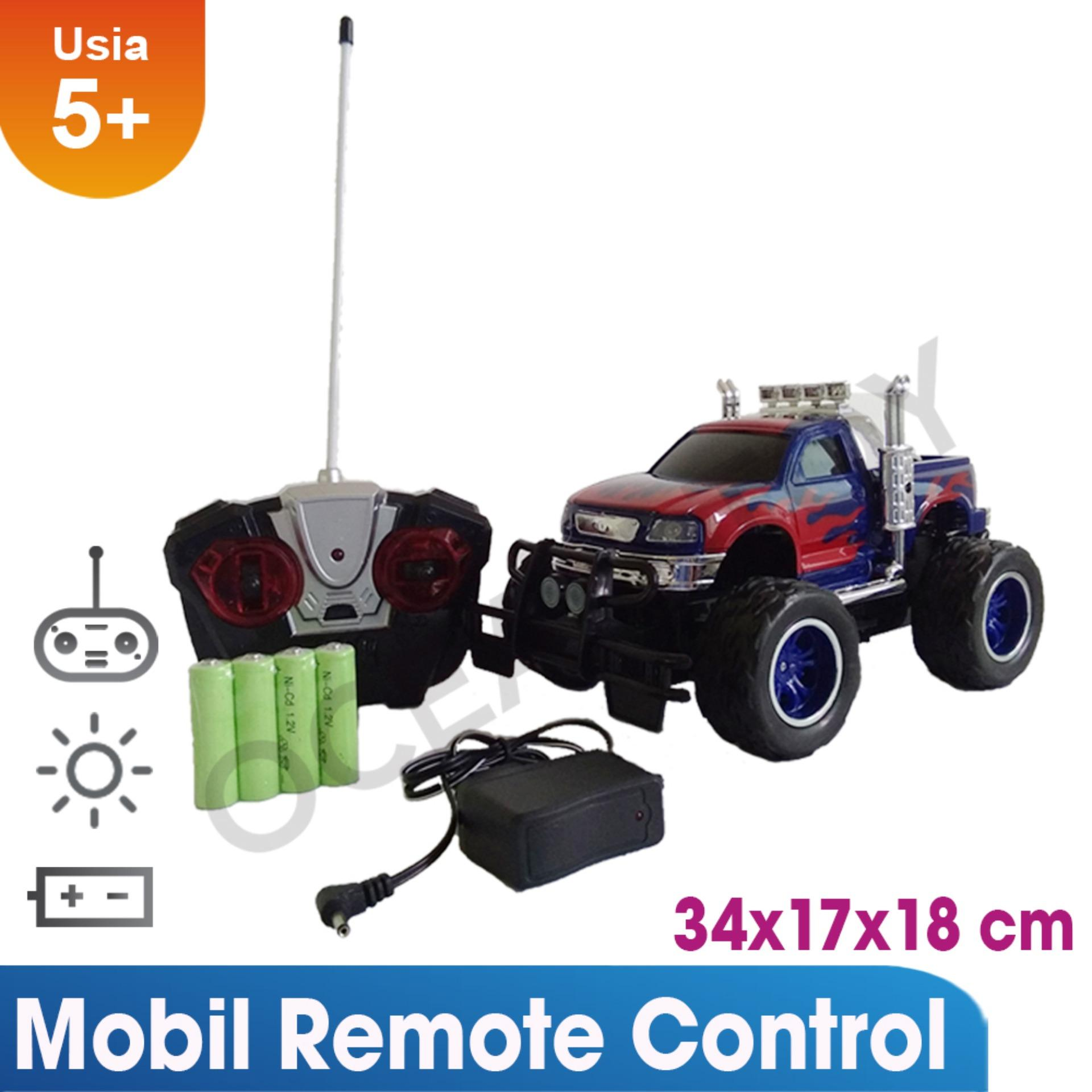 Situs Review Ocean Toy Mobil Remote Control Truck Super Power Mainan Anak 6144R