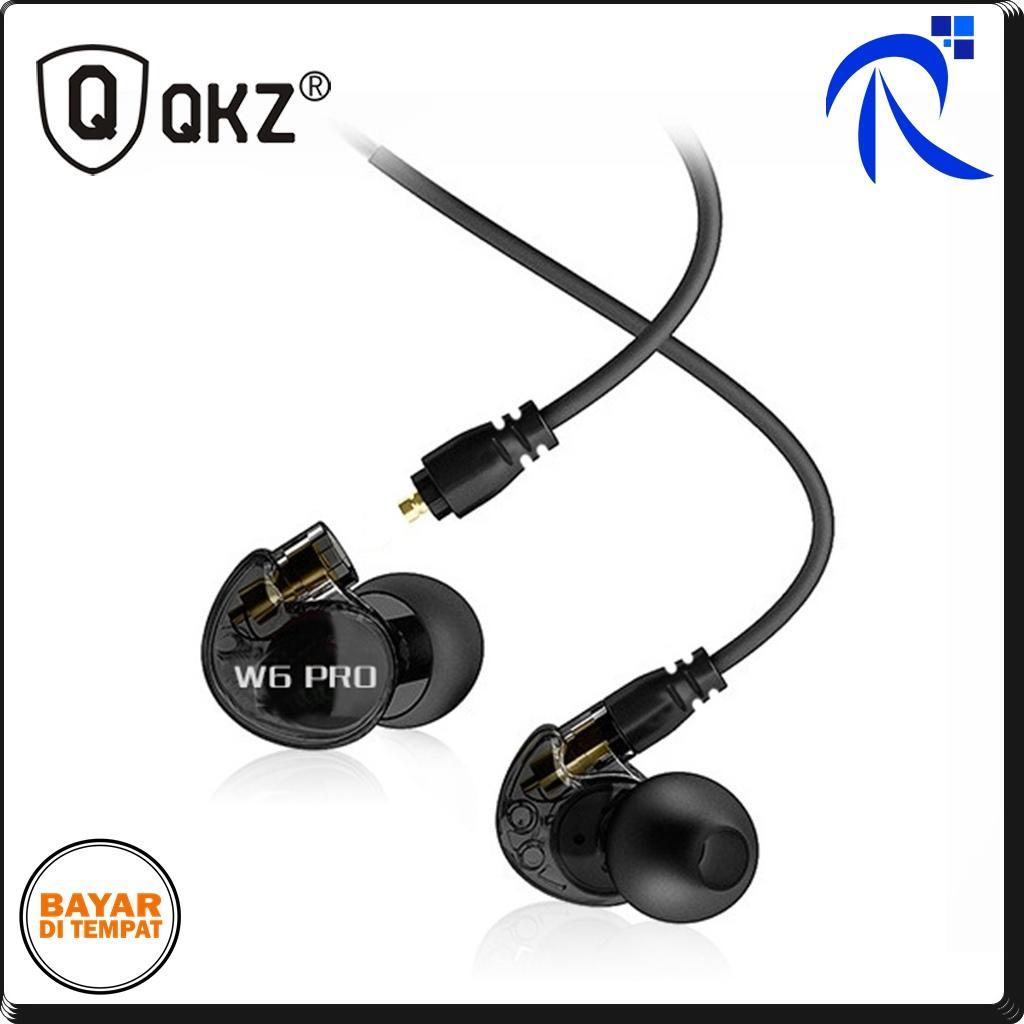 Kelebihan Qkz Earphone Dengan Mikrofon S6 Hitam Black Untuk Vk2 Grey Rimas Sport Earphones With Mic W6 Pro Aksesories Audio Musik