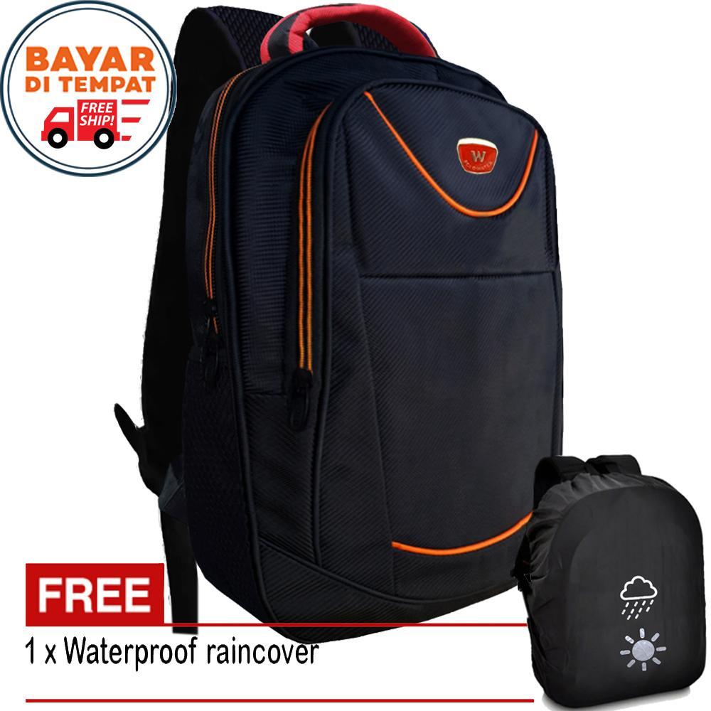 Free Shipping - Polo Backpack W1010#-18 Tas Polo Tas Laptop Tas Punggung Tas